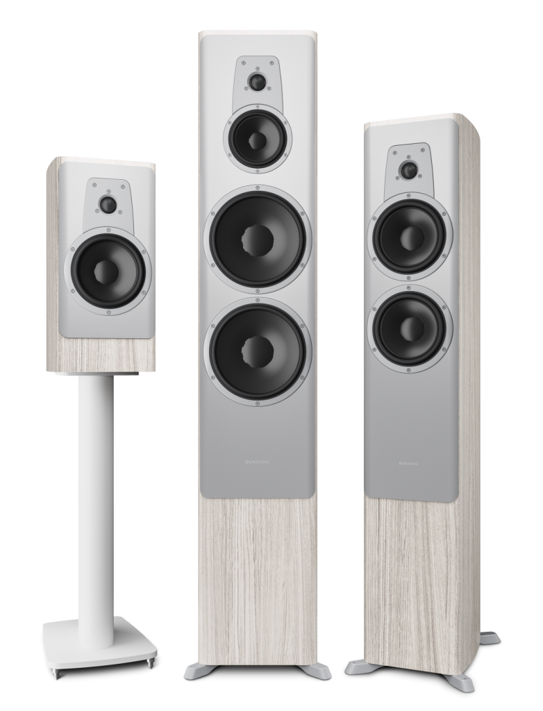 Dynaudio Contour Family White Oak Finish